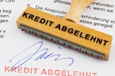 Die 5 häufigsten Gründe für eine Kreditabsage