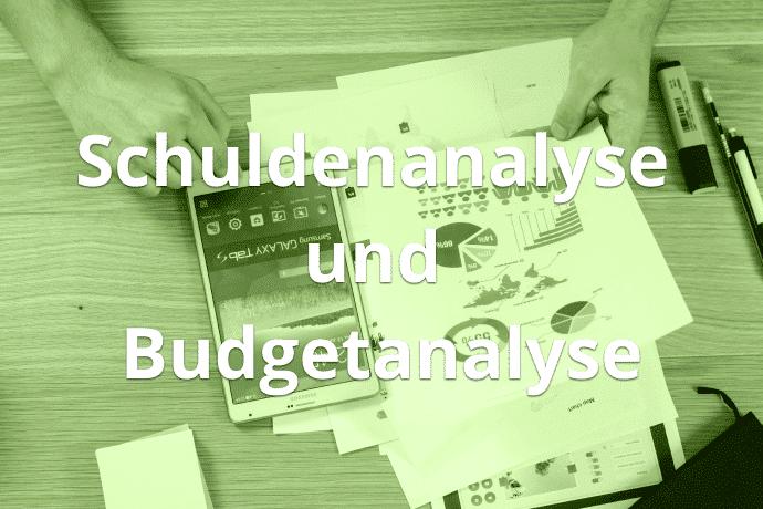 Schuldenanalyse und Budgetanalyse