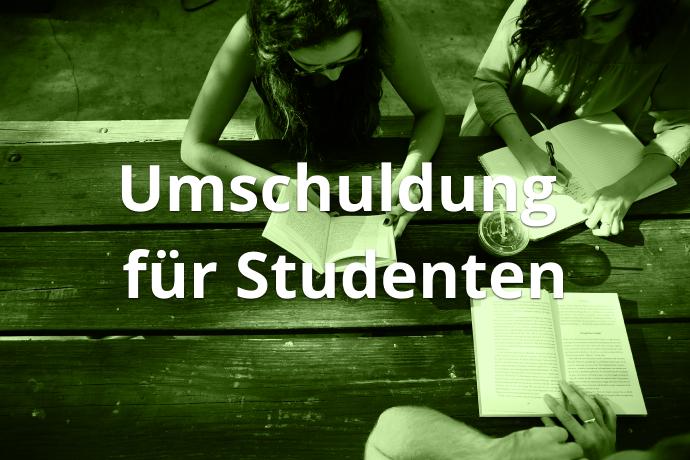 Umschuldung für Studenten
